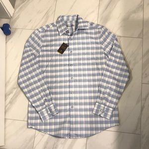 NWT Men's Tasso Elba Button Down Shirt